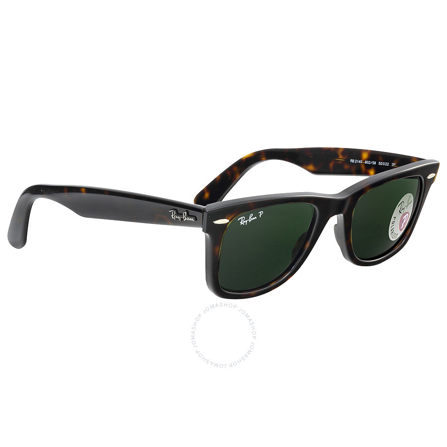 257b018e7160d ... best price ray ban original wayfarer tortoise polarized 50mm sunglasses rb2140  902 58 50 22 6187e
