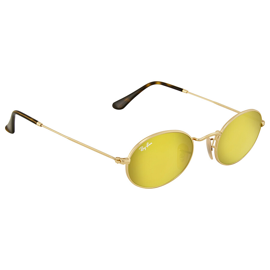 Ray-Ban RB3547N Sonnenbrille Gold 001/93 48mm fYap6mojiq