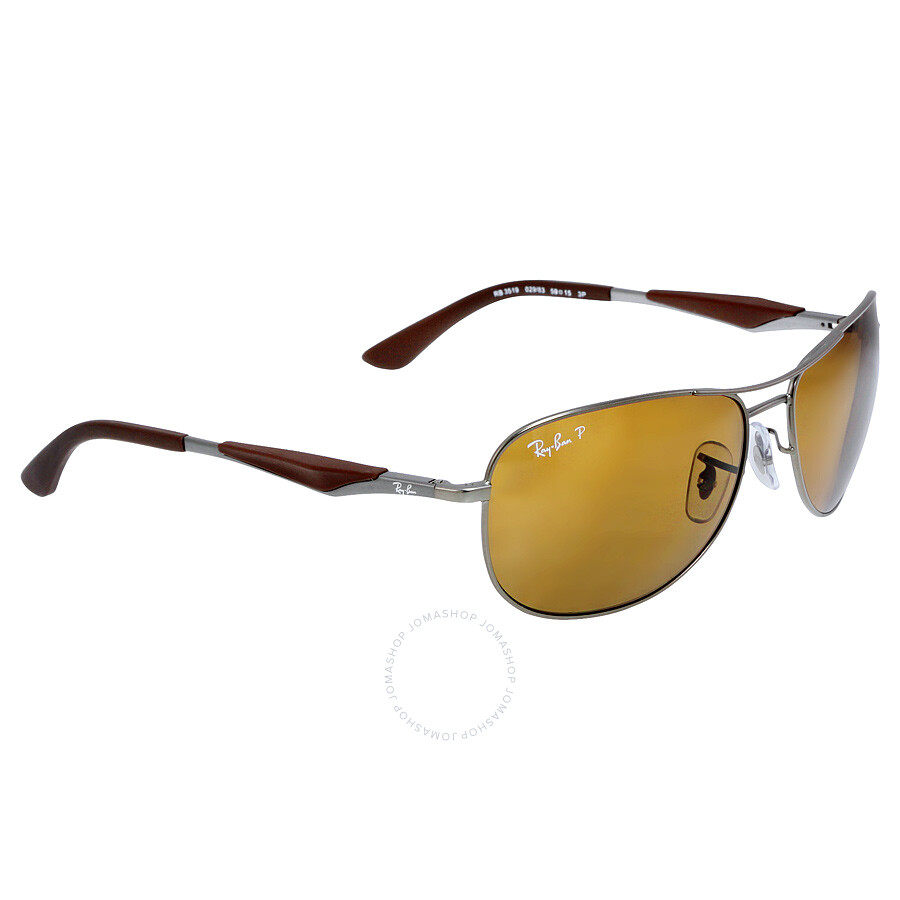 20a0b6f2a68 ... sale ray ban active pilot 59mm sunglasses polarized brown classic 27c54  3a8b2