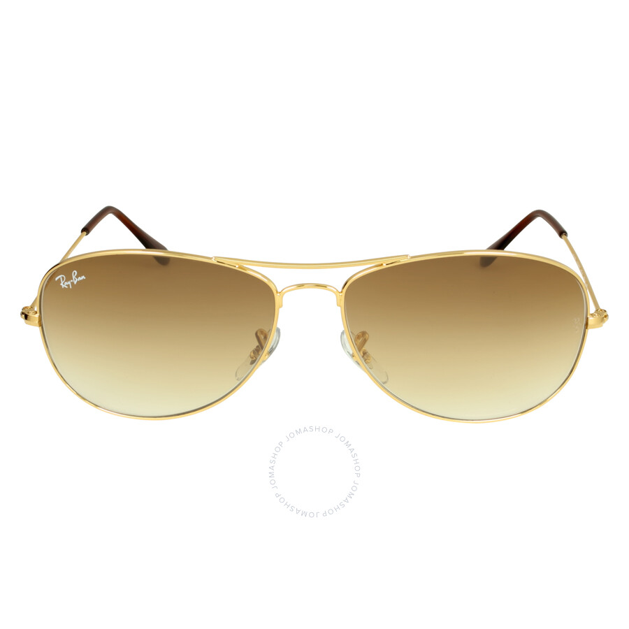 Ray-Ban Pilot Gold-Tone Metal Frame Sunglasses RB3362 001/51 59-14 ...