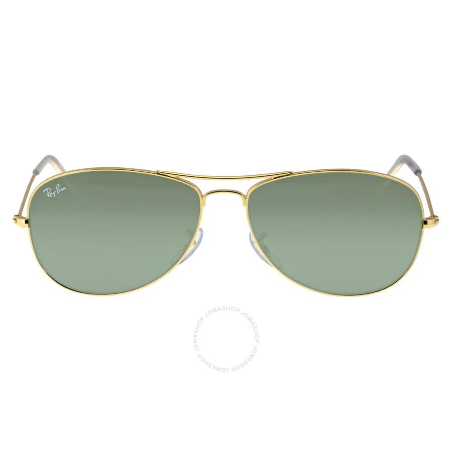 Ray-Ban Pilot Gold-Tone Metal Frame Sunglasses RB3362 001 59-14 ...
