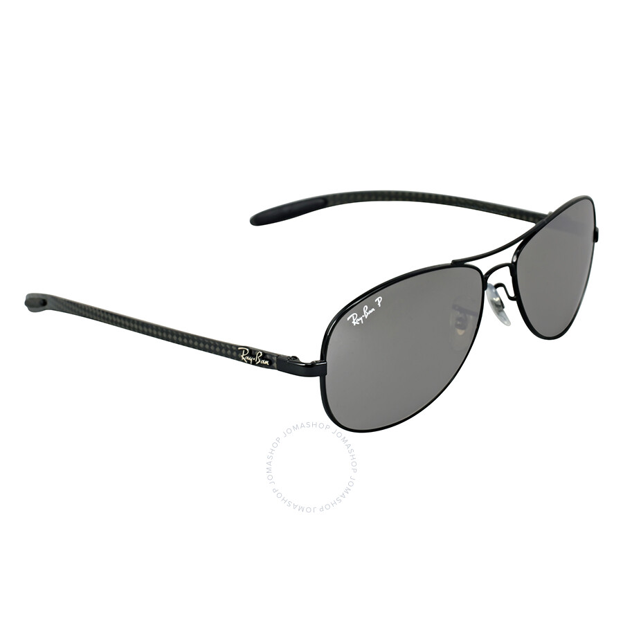 3f447585e8 ... france ray ban pilot polarized grey mirror sunglasses rb8301 002 k7 59  606d4 dd2fa