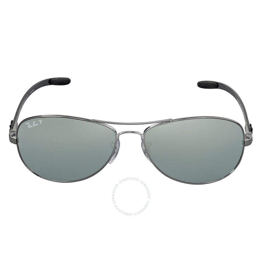 54dd4948d3 ... italy ray ban pilot polarized silver mirror sunglasses rb8301 004 k6 59  cb2fb 0bc6d