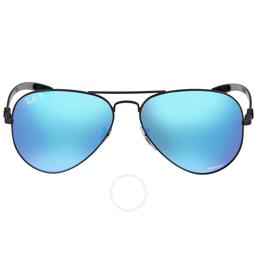 e6ba4ed4ce6 ... get ray ban polarized blue mirror chromance aviator sunglasses 35ecb  bda86