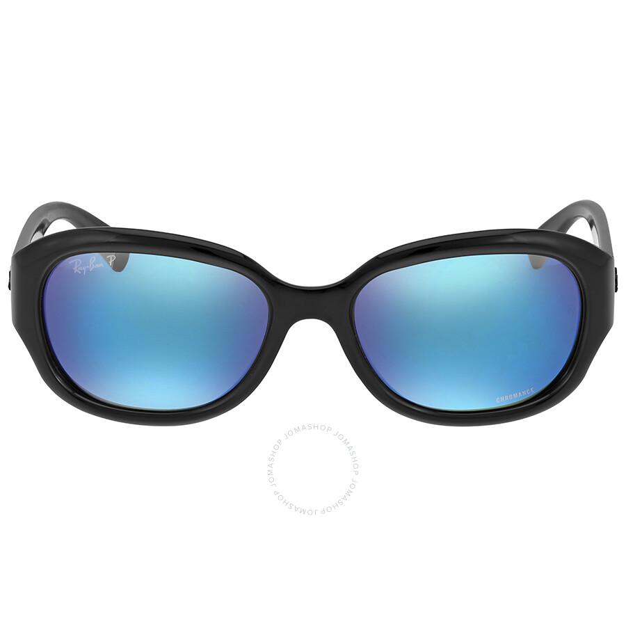 2bcf6ce6fce Ray-Ban Polarized Blue Mirror Square Sunglasses