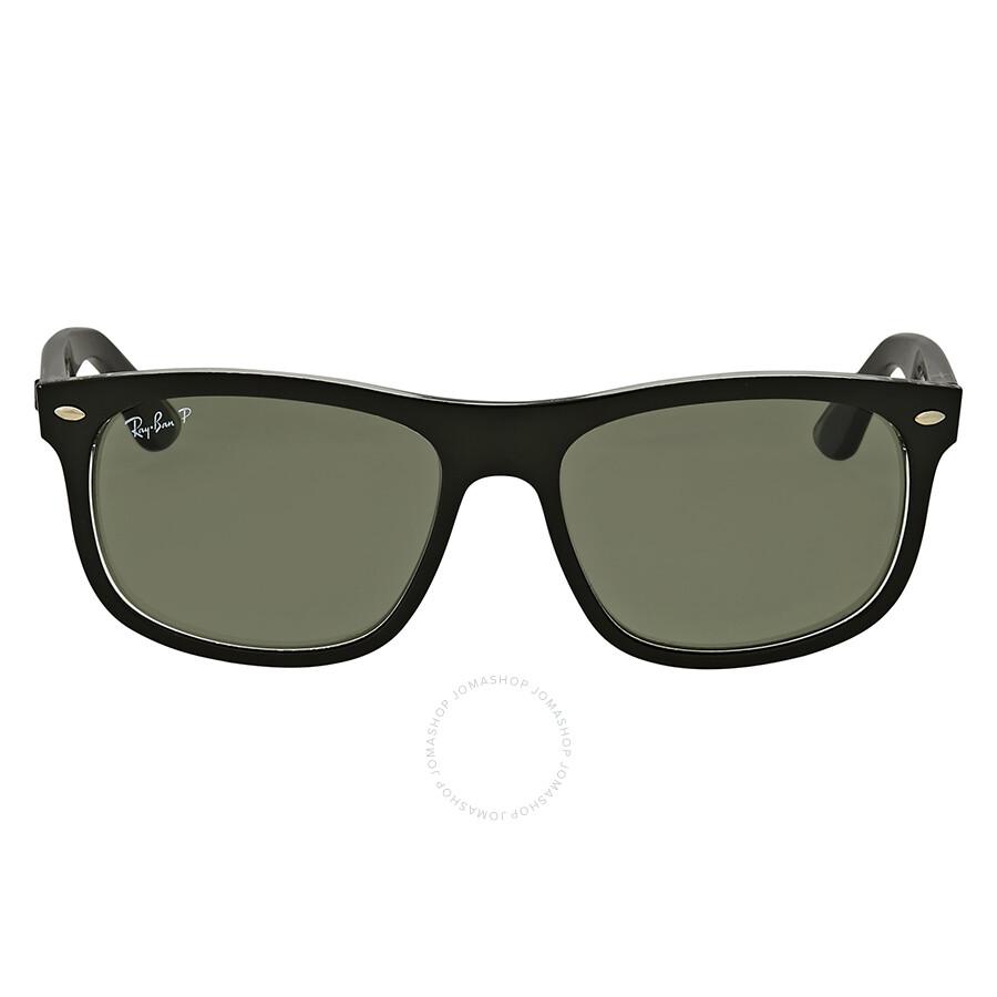 3dee6924056 Ray Ban Polarized Green Classic Square Sunglasses