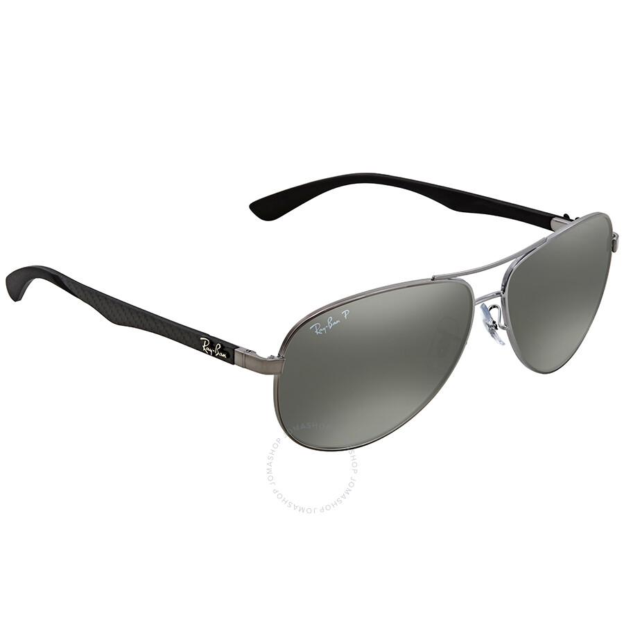 cc198f1207 low cost ray ban polarized silver mirror aviator mens sunglasses rb8313 004  k6 61 d08f0 d7647