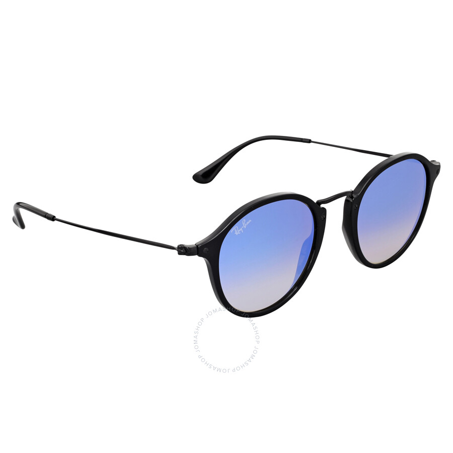 9bd23e86d ... top quality ray ban round fleck blue gradient flash sunglasses rb2447  901 4o 49 e519d f7714