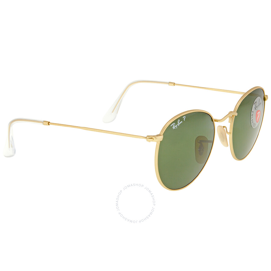 1b6014a1fc ... sweden ray ban round metal polarized green classic g 15 sunglasses  rb3447 112 58 50 13760