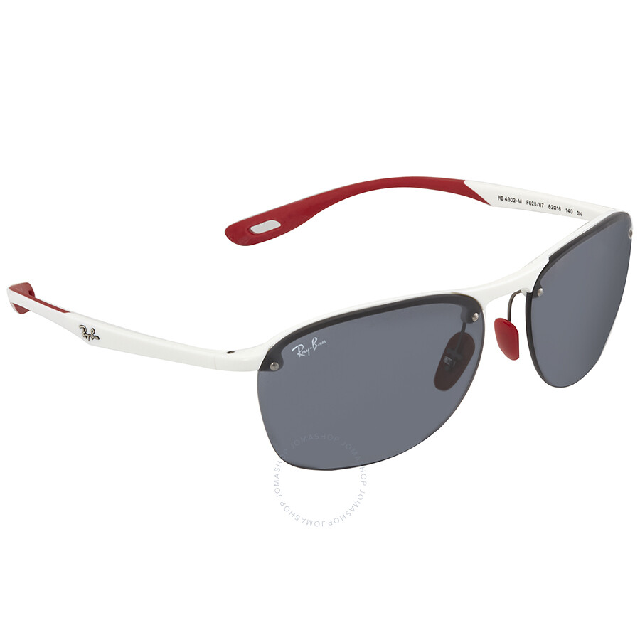 75b29567d5 Scuderia Ferrari Rectangular Sunglasses Rb4302m F624h1