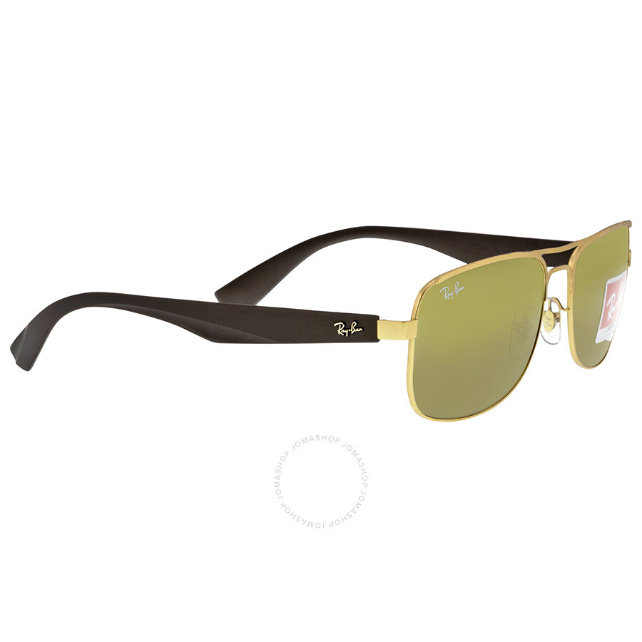 Ray Ban Square Brown Classic Frame Sunglasses RB3524-57-112-73 - Ray ...