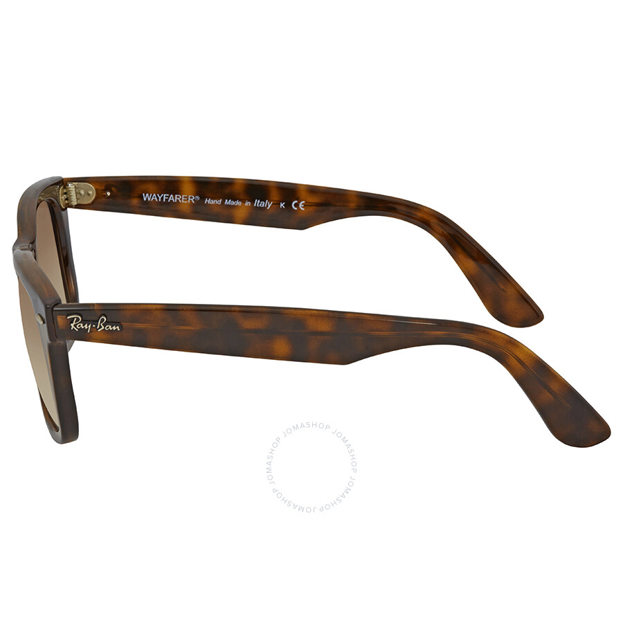 3d179ab64f ... low cost ray ban wayfarer ease light brown gradient square sunglasses  rb4340 710 51 50 24ee9