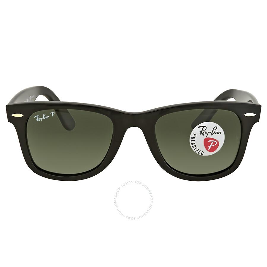 29295c8232d Ray Ban Wayfarer Green Classic G-15 Square Sunglasses RB4340 601 58 50