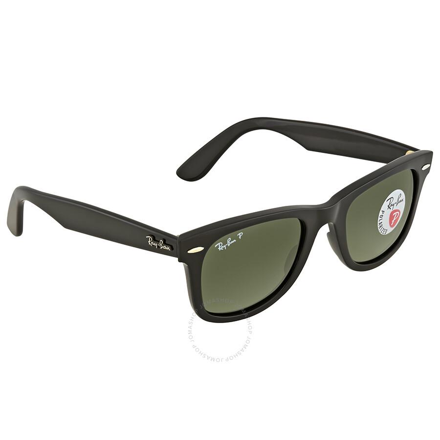 fea5f79fd6f1c ... italy ray ban wayfarer green classic g 15 square sunglasses rb4340 601  58 50 9806e 98a27 ...