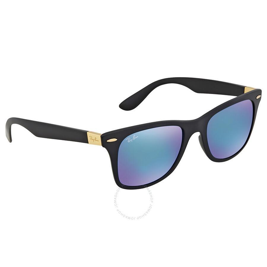ffa671e5c6 ... denmark ray ban wayfarer liteforce blue mirror sunglasses rb4195 631855  52 505e8 bc23c
