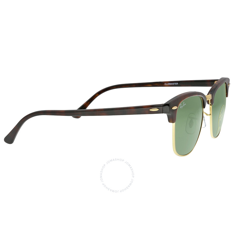 Ray-Ban Clubmaster Tortoise Arista 51mm Sunglasses RB3016 W0366 51 ...