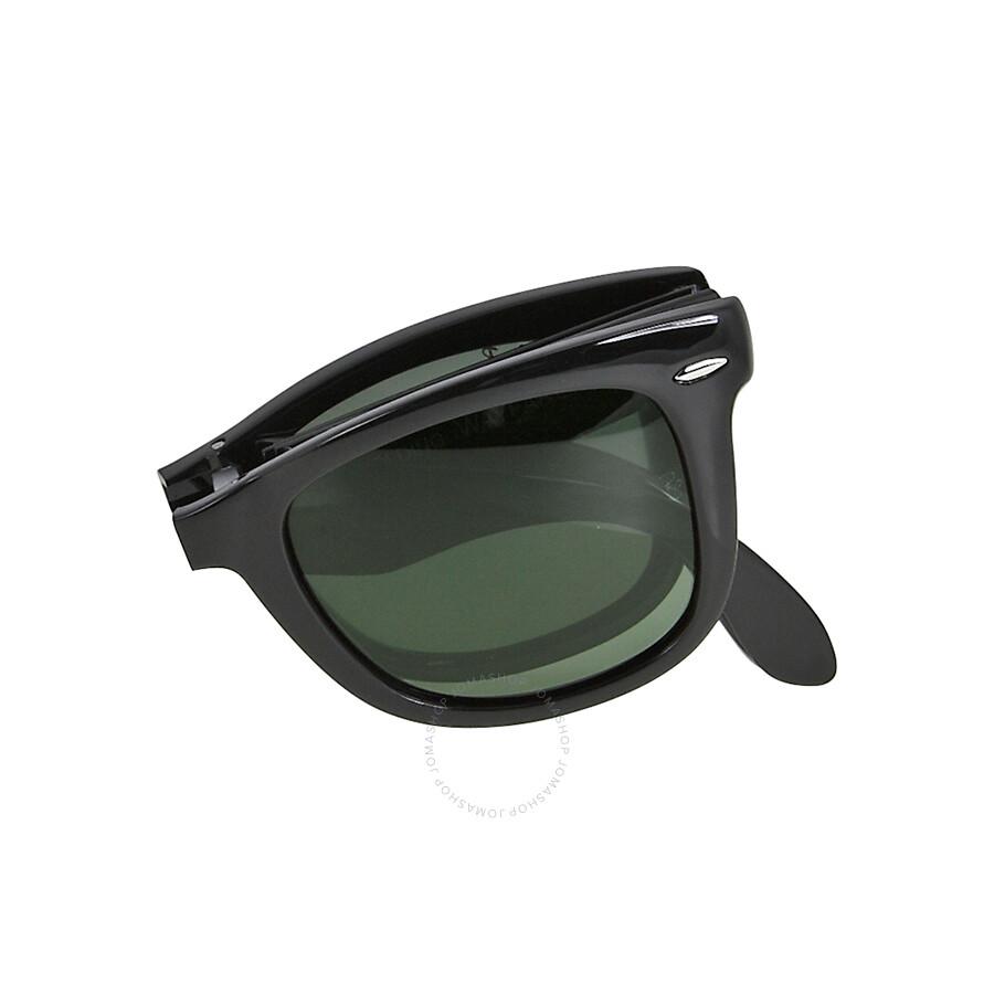 bc1360bf97 ... czech rayban folding wayfare black plastic 50mm mens sunglasses rb4105  601 58 50 22 0a8f7 11947