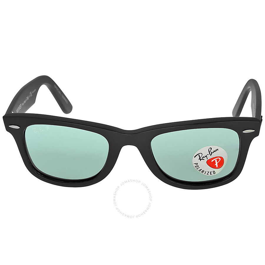 Ray-Ban Original Wayfarer Matt Black Plastic Frames 50mm Sunglasses ...