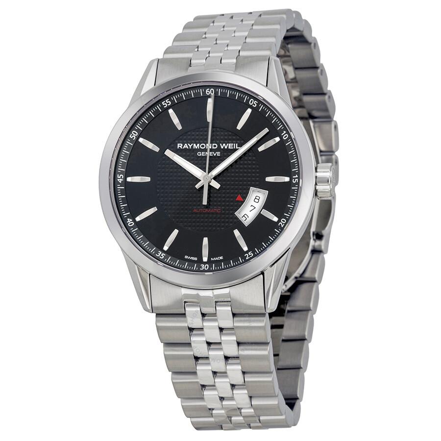 Raymond weil freelancer automatic black dial men 39 s watch 2730 st 20021 freelancer raymond for Raymond watches