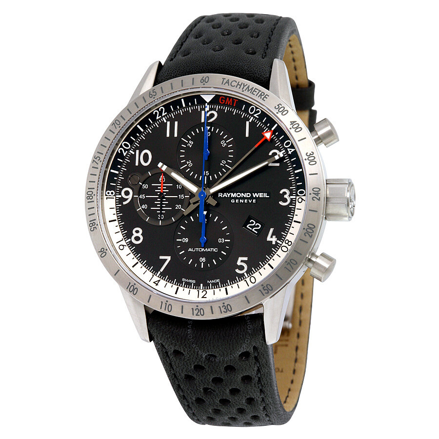 raymond weil freelancer piper special edition chronograph gmt