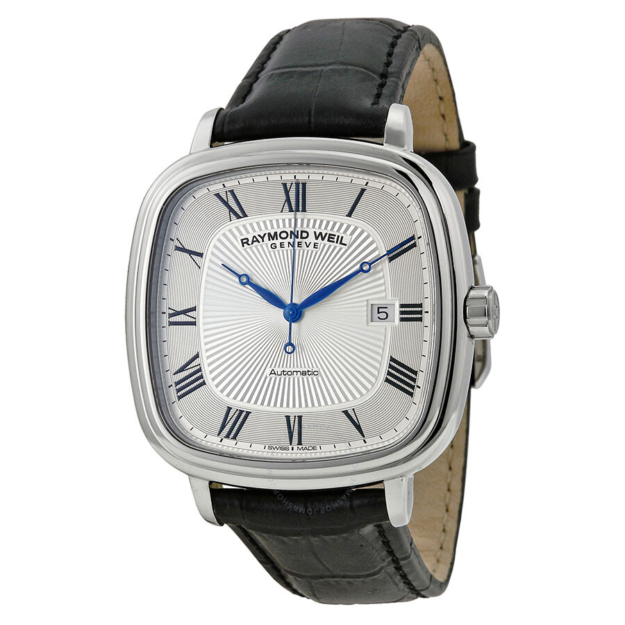 Raymond Weil Maestro Automatic Silver Dial Men's Watch 2867-STC-00659 ...