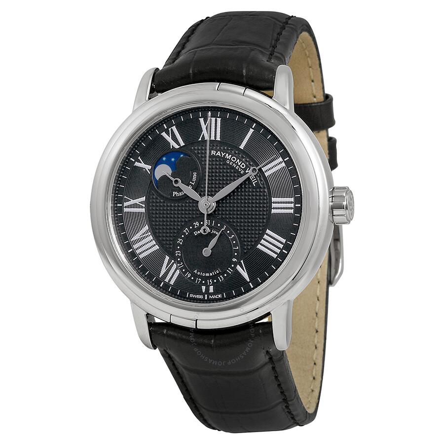 Raymond weil maestro automatic moonphase men 39 s watch 2839 stc 00209 maestro raymond weil for Raymond watches