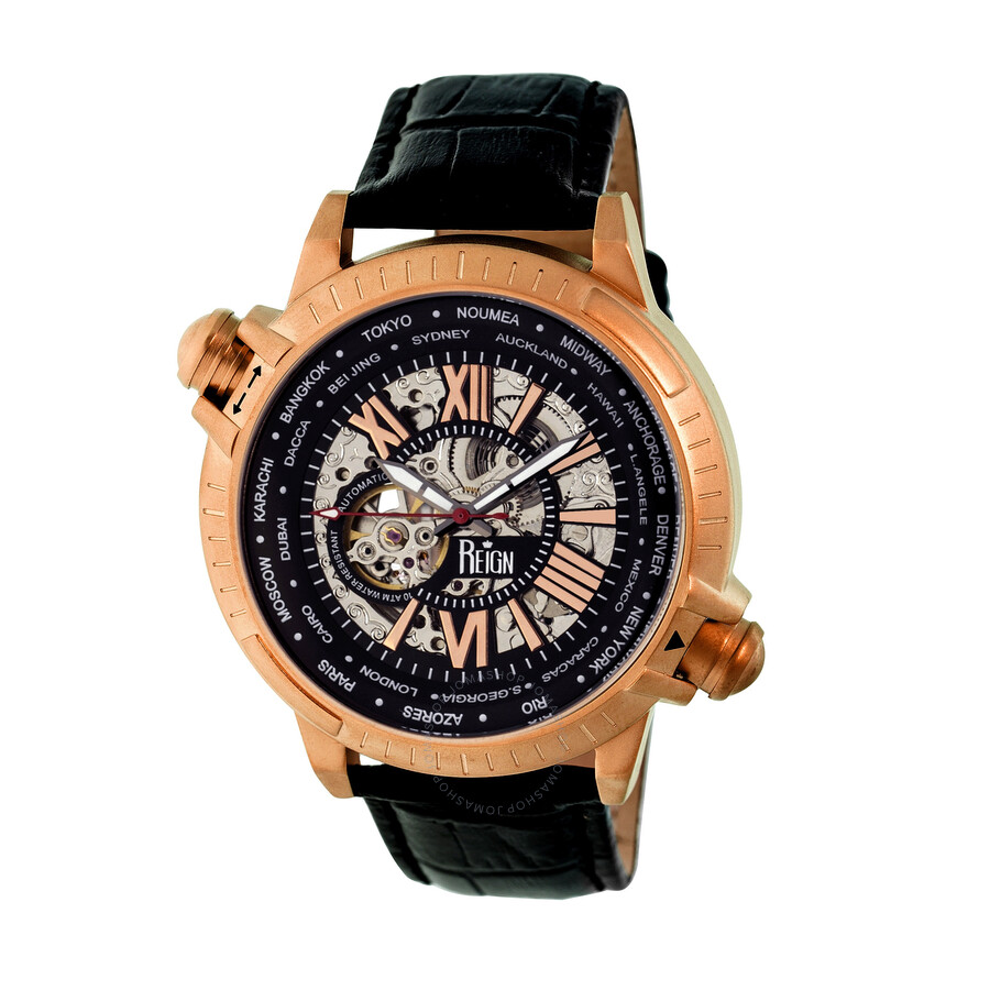 audemars black piguet chronograph watches strap oak leather gold royal rose ap on