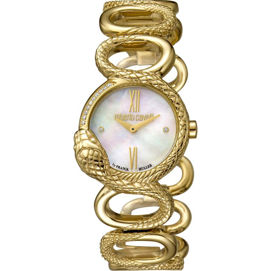 Roberto Cavalli RC-30 Mother of Pearl Dial Ladies Watch RV2L018M0026
