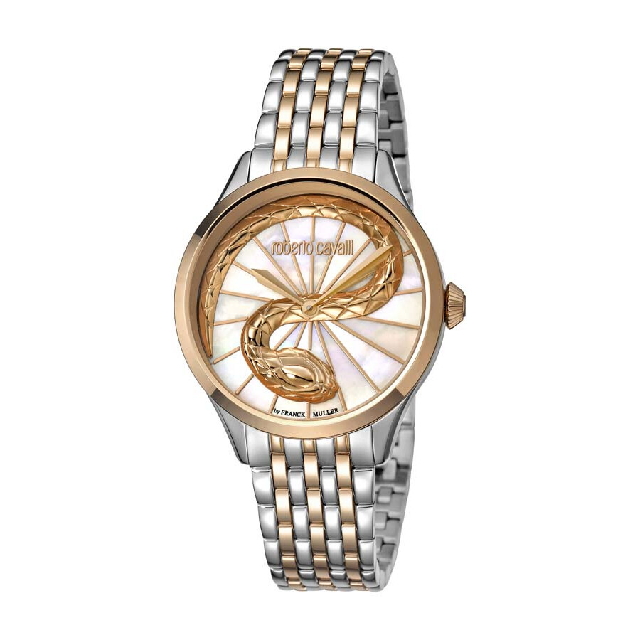 Roberto Cavalli RC-35 Mother of Pearl Dial Ladies Watch RV1L036M0106