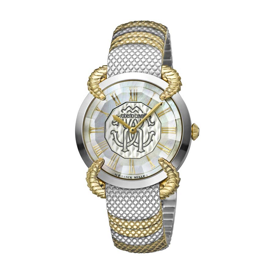 Roberto Cavalli RC-37 Mother of Pearl Dial Ladies Watch RV1L042M0076