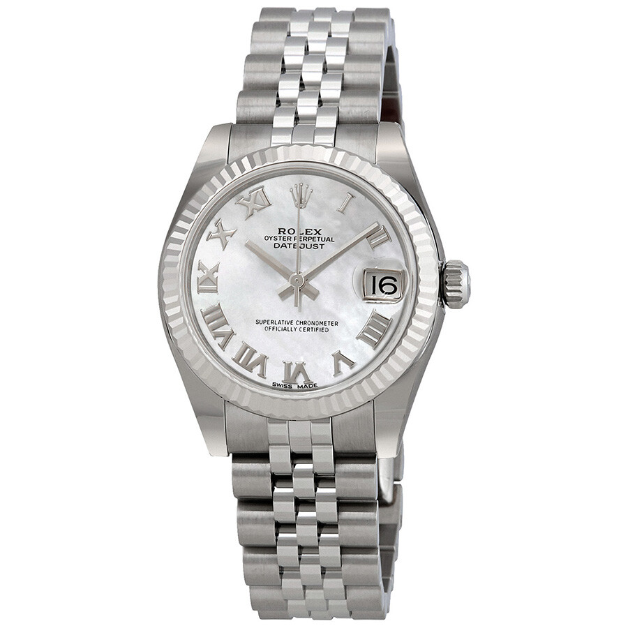 Rolex Datejust Lady 31 Mother of Pearl Dial Stainless Steel Jubilee Bracelet..