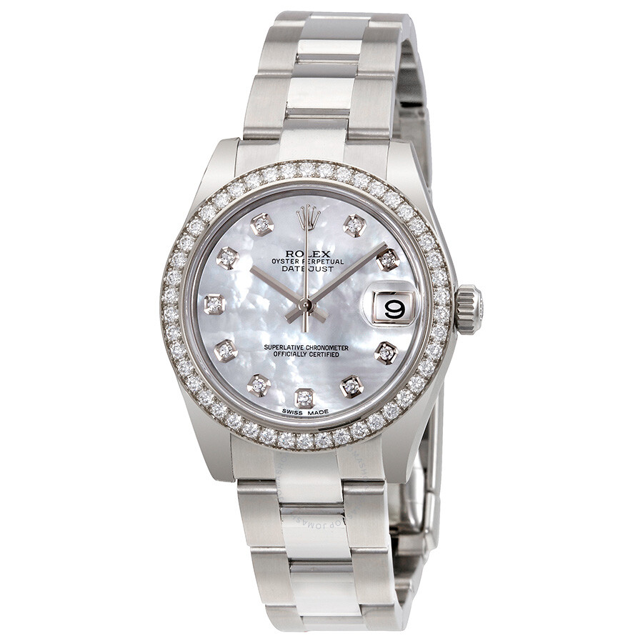 Rolex Datejust Lady 31 Mother of Pearl Dial Stainless Steel Oyster Bracelet ..