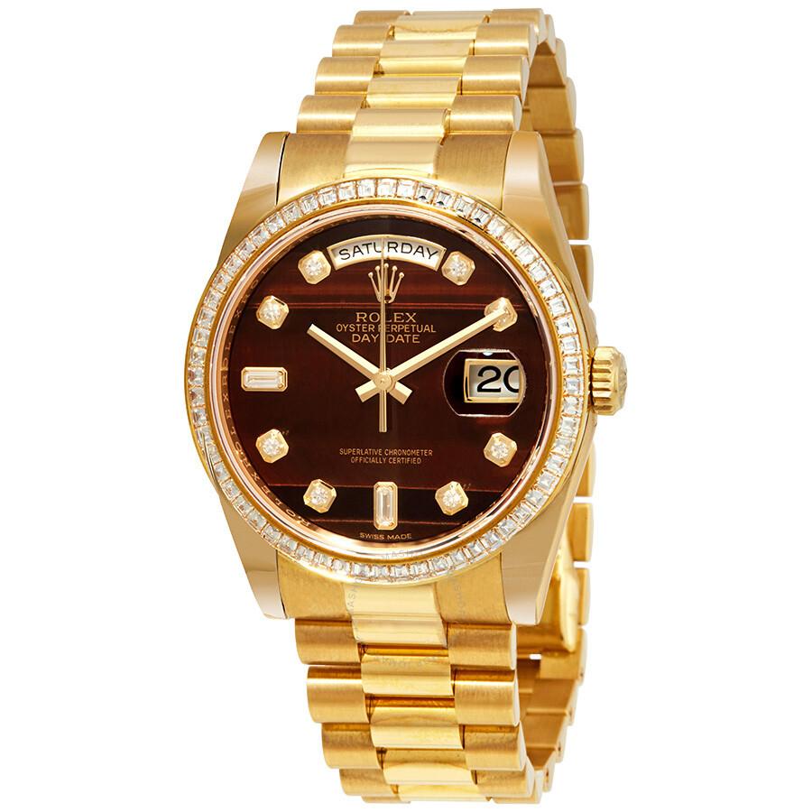 Mens Gold Rolex Day Date