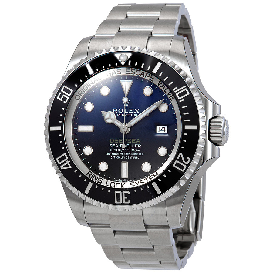 Rolex Deepsea D-Blue Dial Automatic Mens Stainless Steel Oyster Watch 126660BLSO