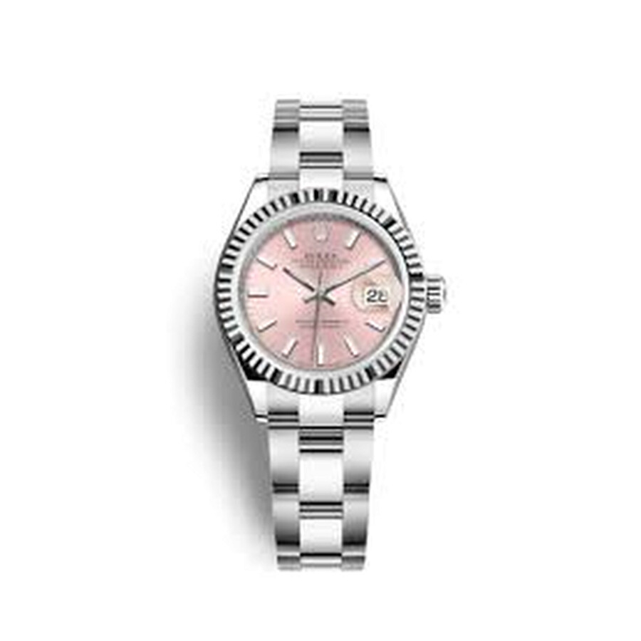 Rolex Lady Datejust Automatic Pink Dial Ladies Oyster Watch 279174PSO