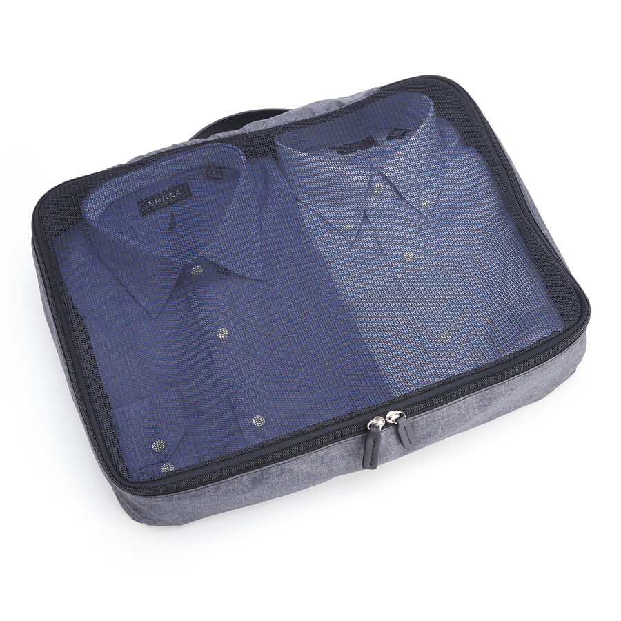 royce leather royce leather set of 4 luxury travel packing cubes
