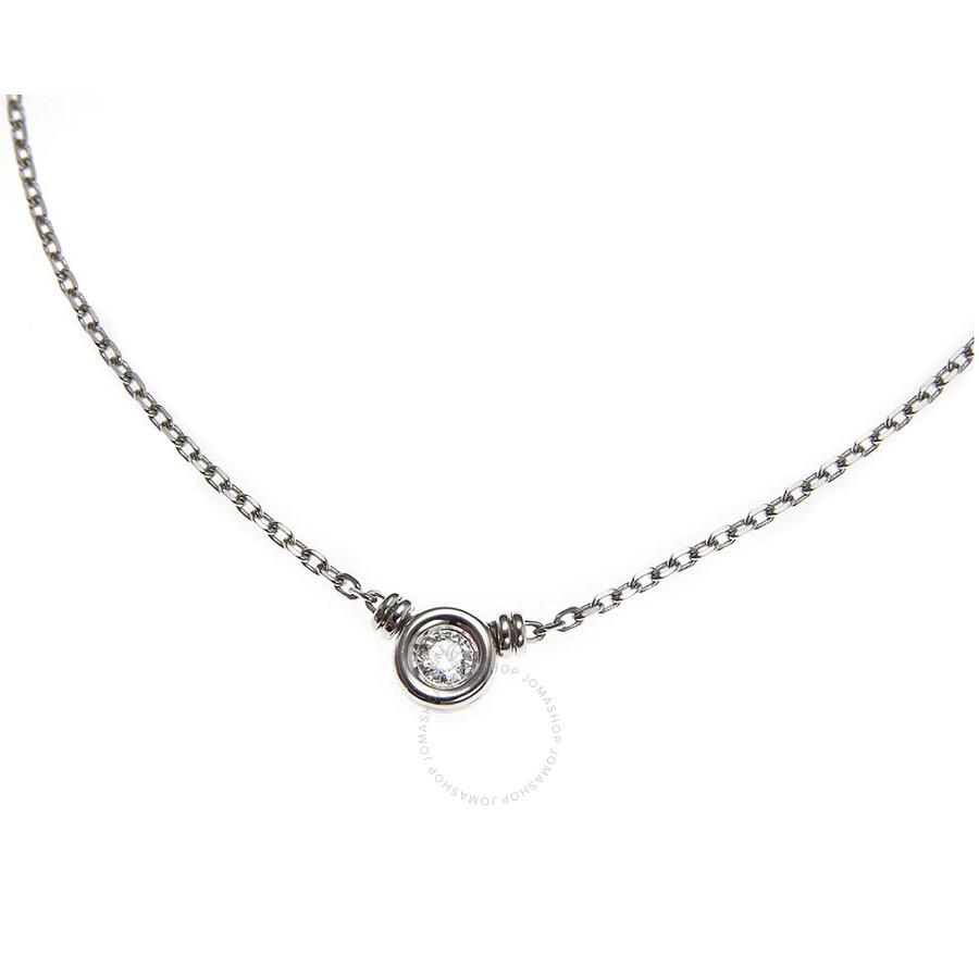 Scott Kay 18kt White Gold 0.15ct Diamond Necklace NK001RD15WG