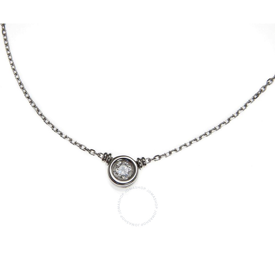Scott Kay White Gold 0.25 Diamond Necklace NK001RD25WG