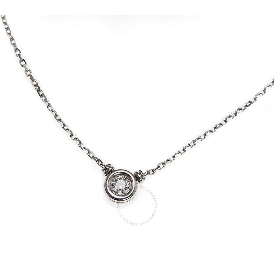 Scott Kay White Gold 0.2ct Diamond Necklace NK001RD20WG