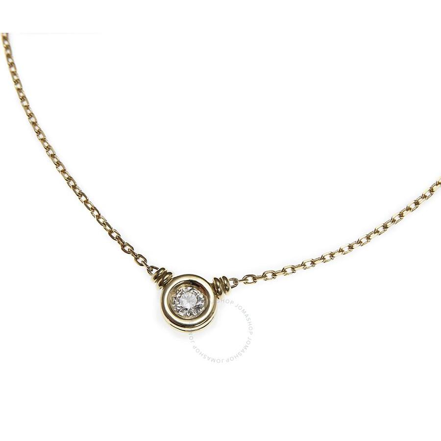 Scott Kay Yellow Gold 0.25 Diamond Necklace NK001RD25YG