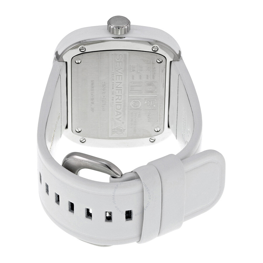 analog square digital white fashion rubber watches accessories essence watch men vegans