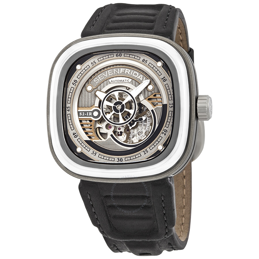 Sevenfriday s series automatic silver dial men 39 s watch s2 01 sevenfriday watches jomashop for Sevenfriday watches