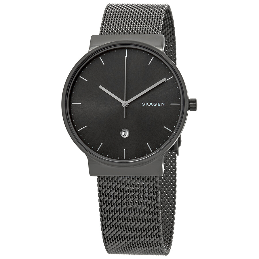 Skagen Ancher Grey Sunray Dial Mens Watch SKW6432