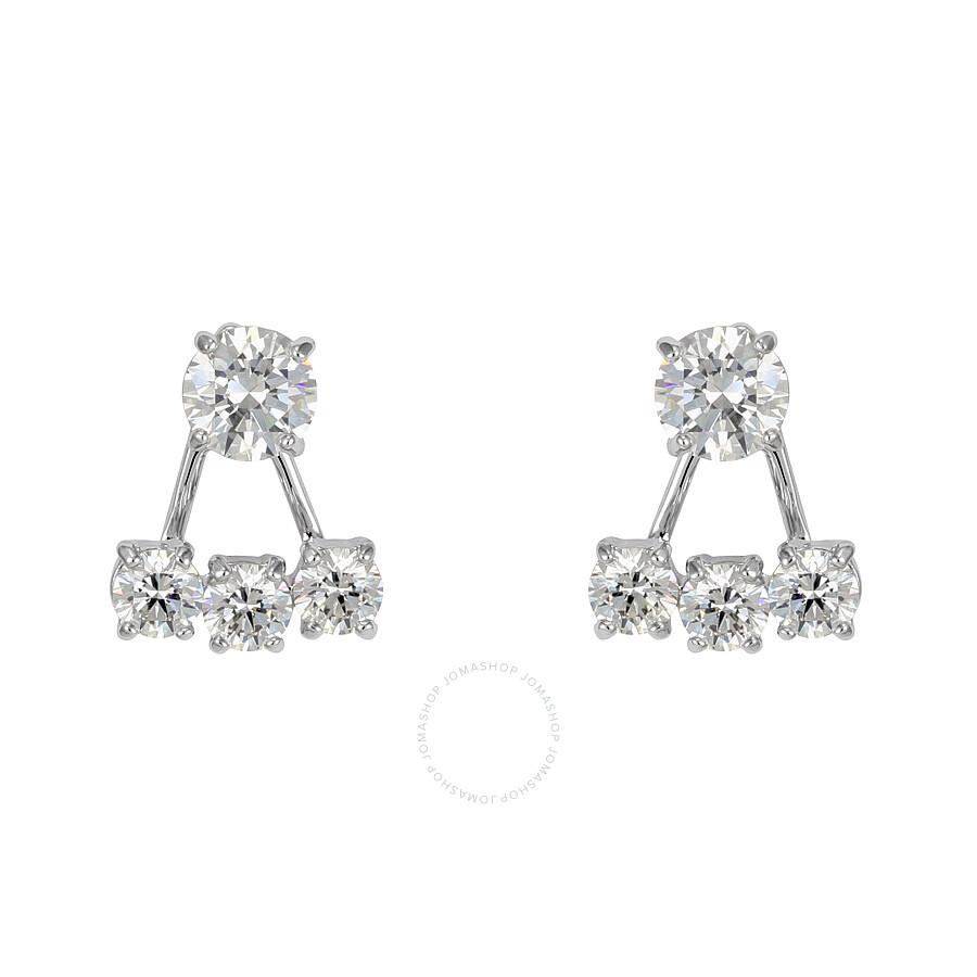 Swarovski Attract Pierced Earrings With Jackets 5123880