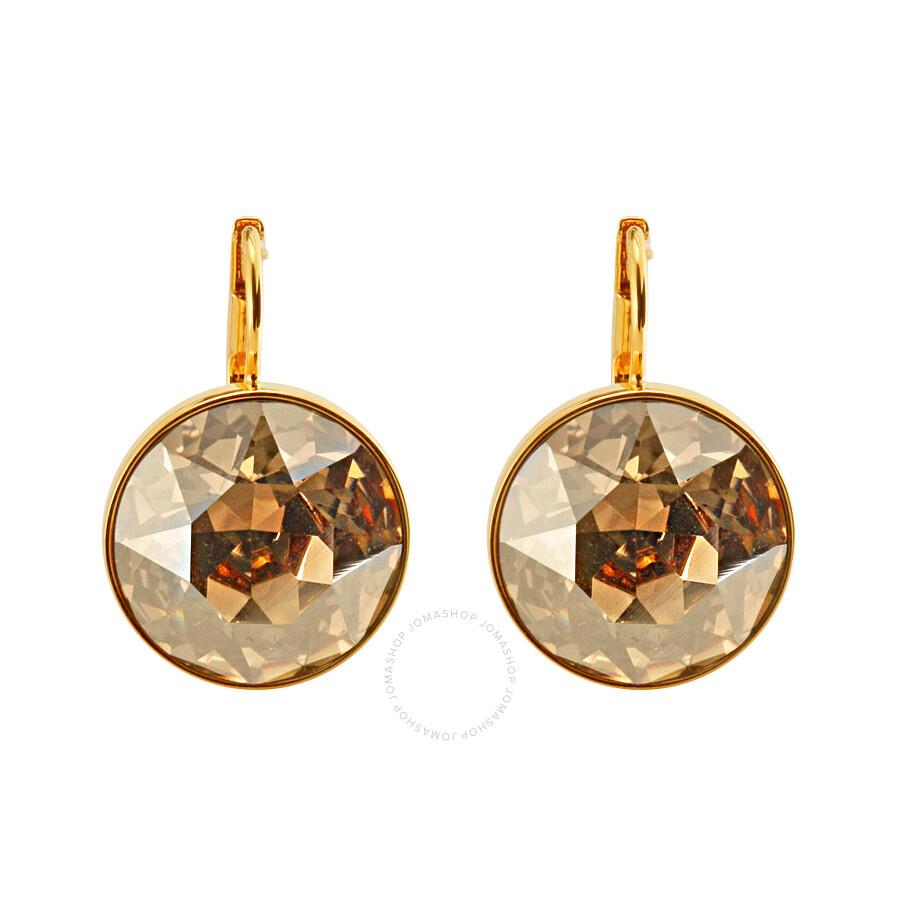 Swarovski Bella Golden Shadow Pierced Earrings 901640