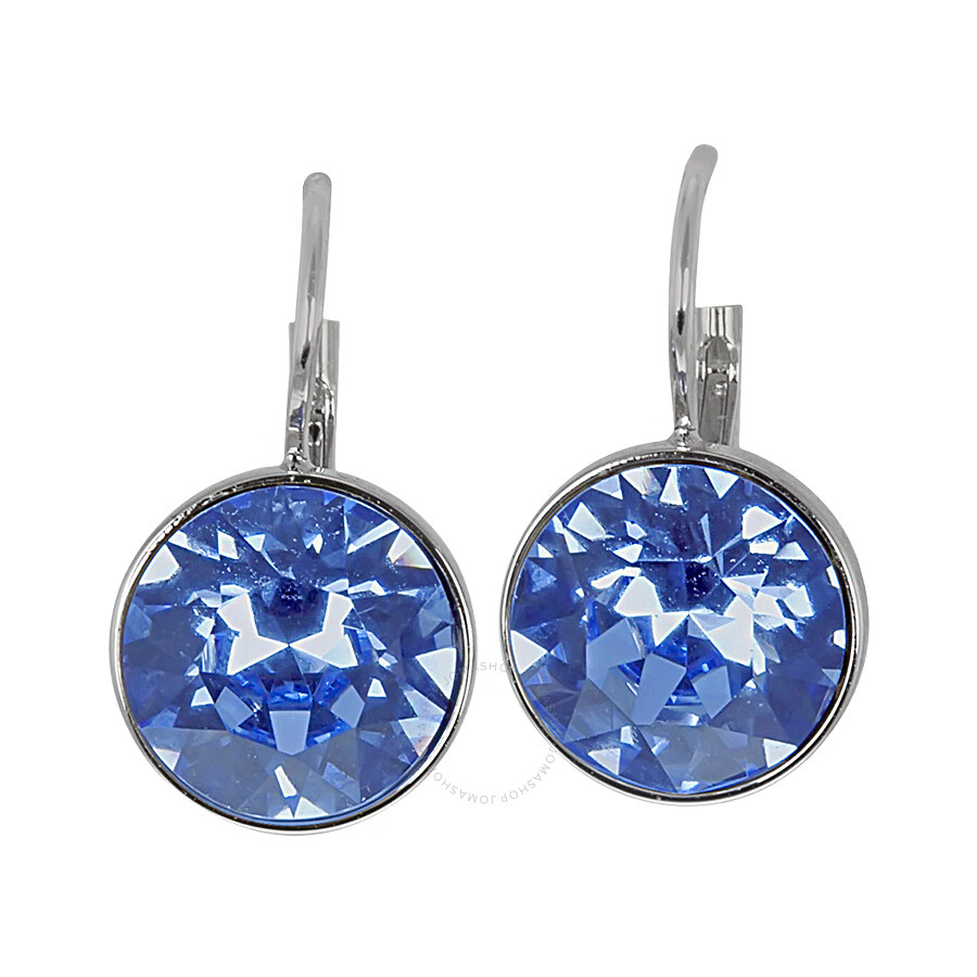 swarovski mini earrings swarovski mini light sapphire pierced 8897