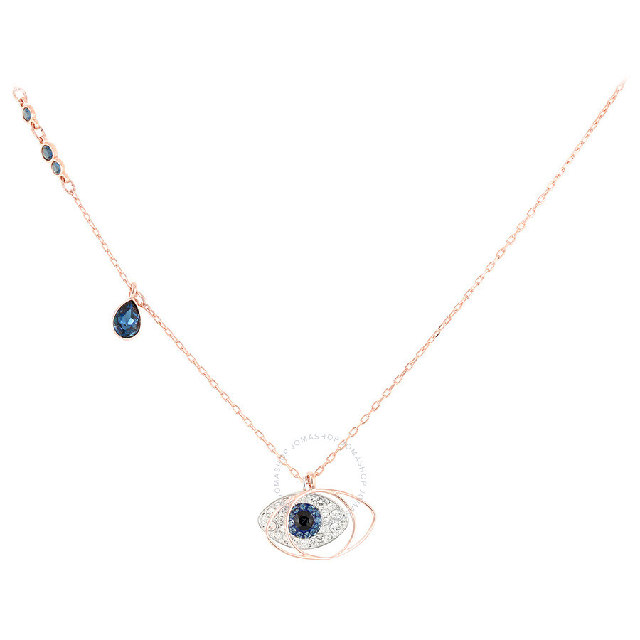 Swarovski duo evil eye pendant 5172560 swarovski ladies jewelry swarovski duo evil eye pendant 5172560 aloadofball Images