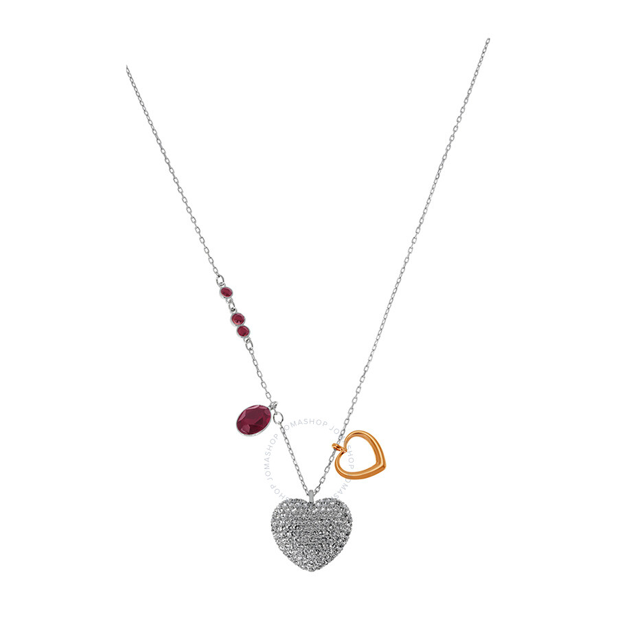 Swarovski Duo Heart Medium Pendant 5169393