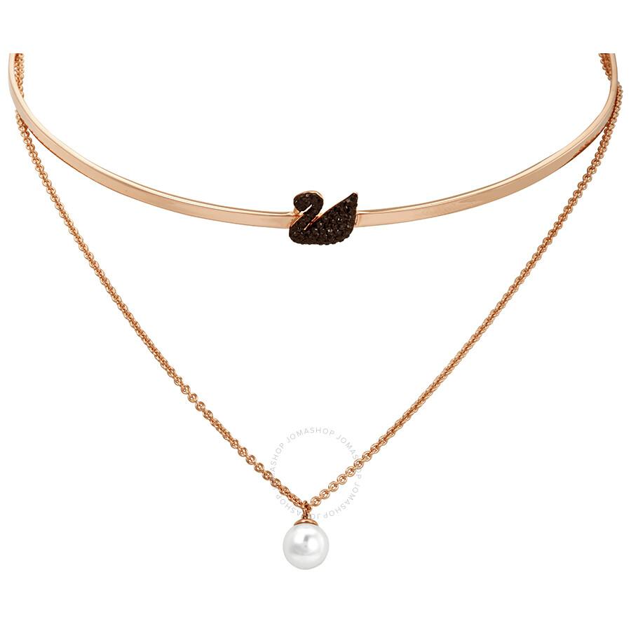 Swarovski Iconic Swan Chocker Necklace