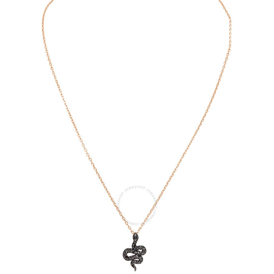 Swarovski Leslie Serpent Necklace